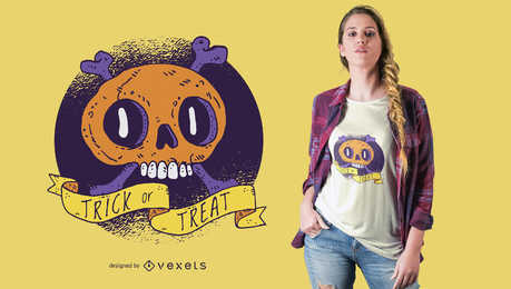 Vector Skull Print Graphics