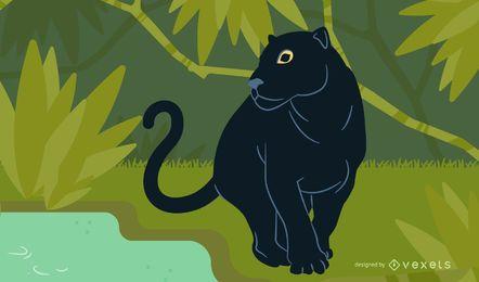 Panther-Vektor