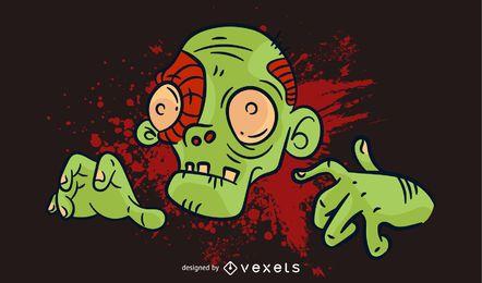 Zombie-Vektoren