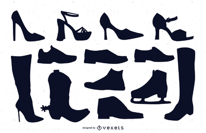 Vetores de sapatos