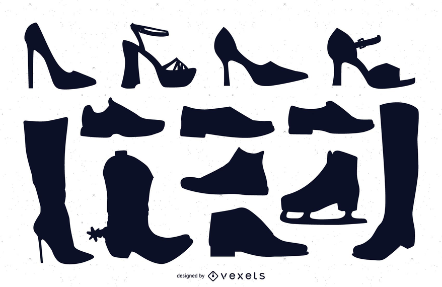Vectores de zapatos
