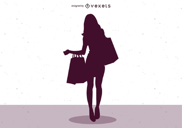 Vetor de ilustrador de moda feminina 01