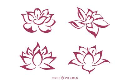 Produção Zhang Daqian Estilo Lotus Linha Desenho do assassino