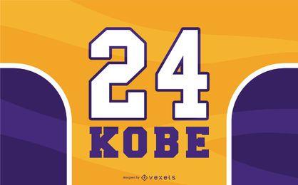 Diseño libre de Kobe Bryant