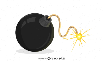Bomba de vector fresco