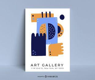 Diseño creativo de carteles vectoriales.
