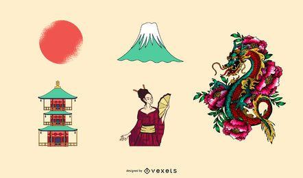 Elementos japoneses