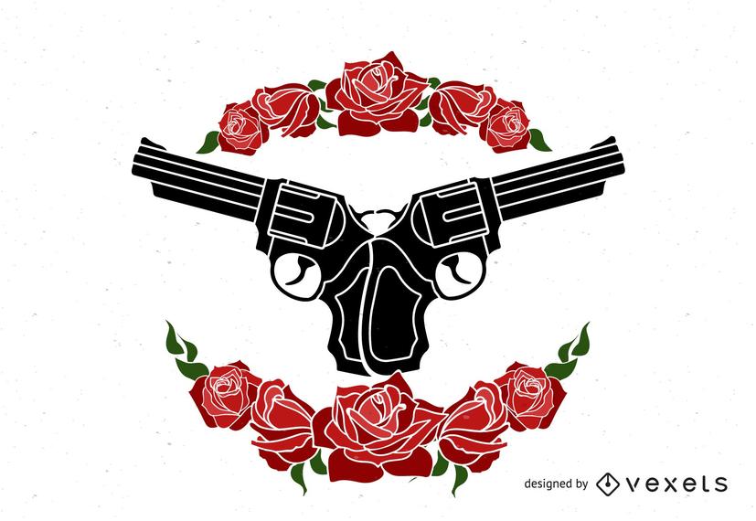 Armas y Rosas de Diseño.