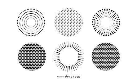 Gehe Medien produzierte Vektor-strukturierte Druckauslässe