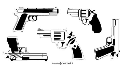 Conjunto de vectores de armas