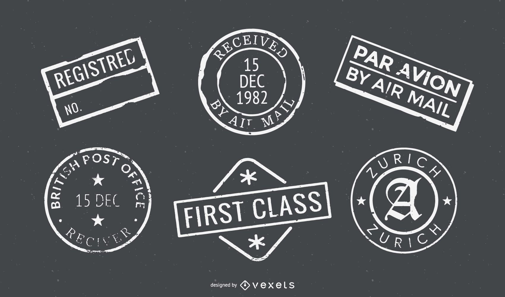 Passport Stamp Seal Collection