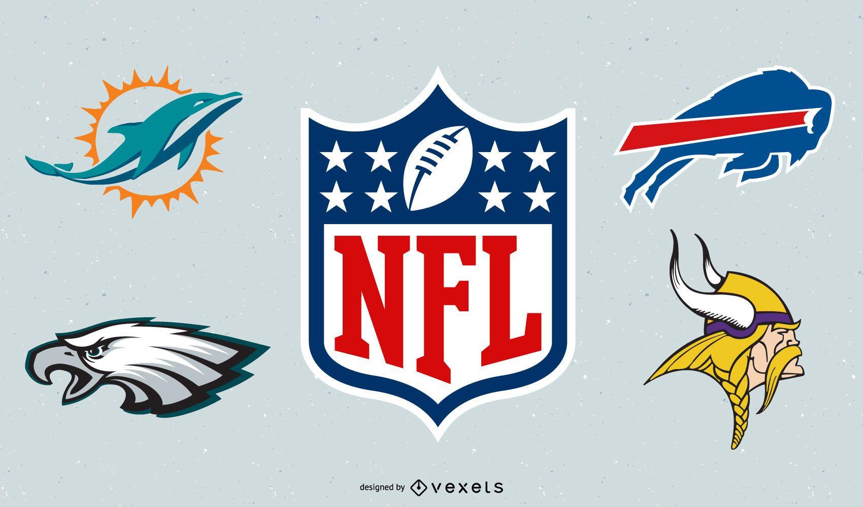 Logotipos vectoriales del equipo de la Nfl