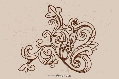 Baroque Ornament Vectors