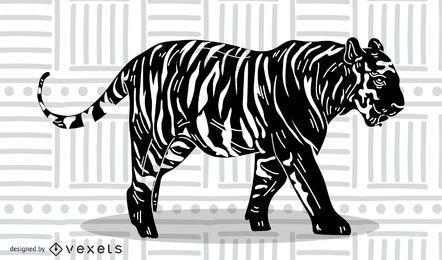 Der Tiger Bild 15 Vektor