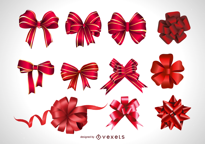 Vector festive gift bow vector download vector festive gift bow negle Image collections