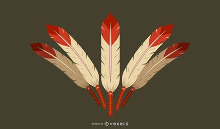 3D Feather Classic Vector Elemento 3d Vector Design Ilustrador Ai Photoshop 3D Illustrator AI Classic Design Ilustrador Vector