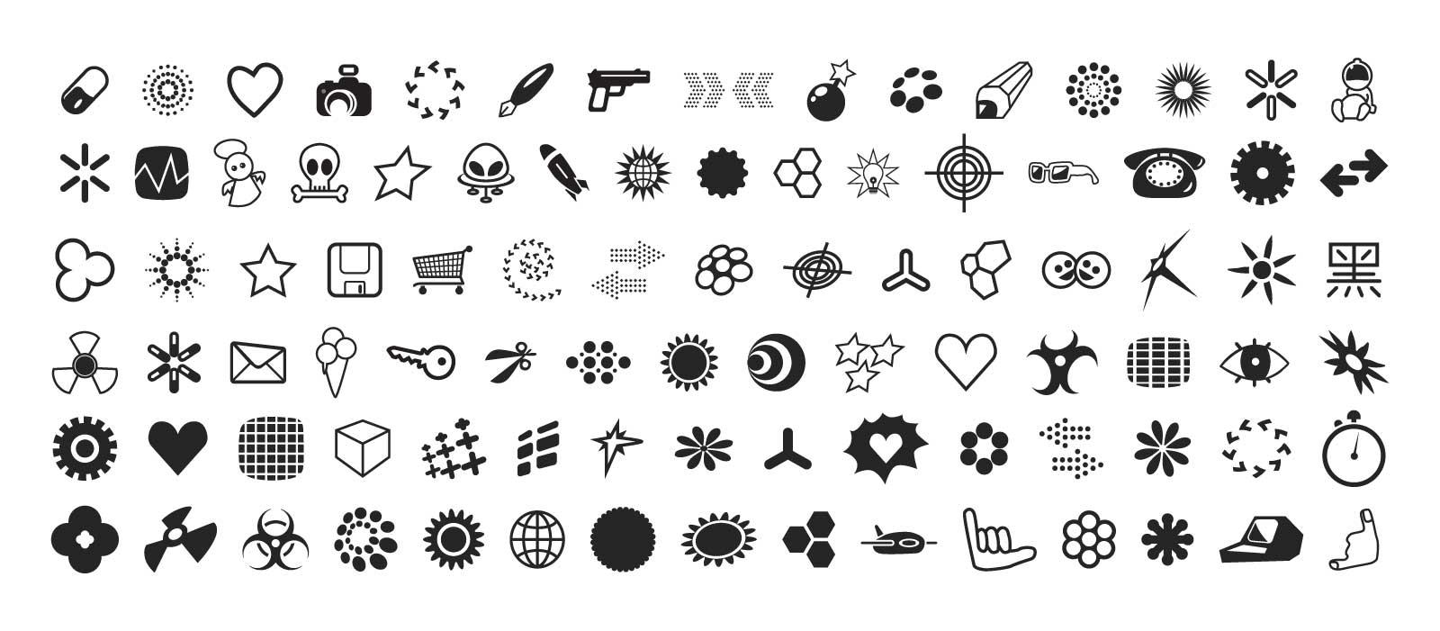 Elemento de moda vetorial de gráficos bonitos