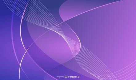 Vetor luz dinâmica desarrumado sinfonia