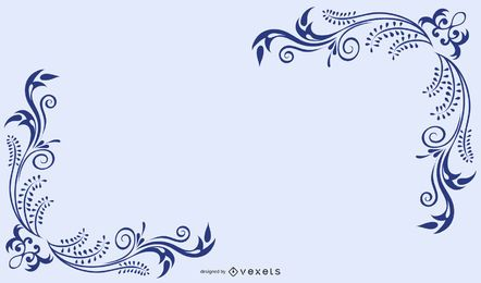 Vector libre Swooshes y diseños de esquina de lujo 2