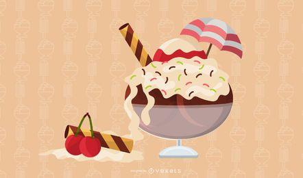 Exquisite Desserts 01 Vector