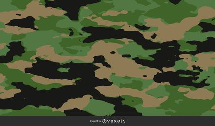 Camouflage Pattern Background Design