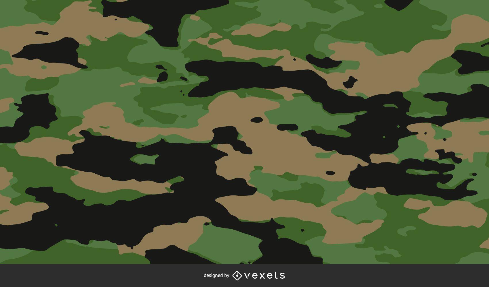 Camouflage Pattern Background Design