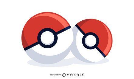 Ilustración de Pokeball