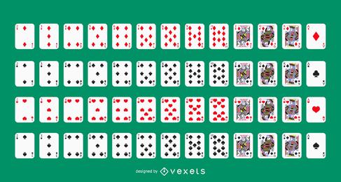 Vektor-Kartenspiel