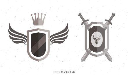 Emblemas del escudo de armas