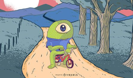 Monsta Biker