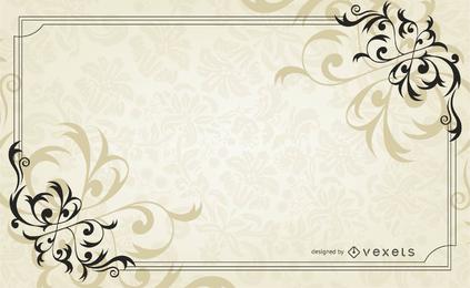 Vector Retro clássico fronteira 03