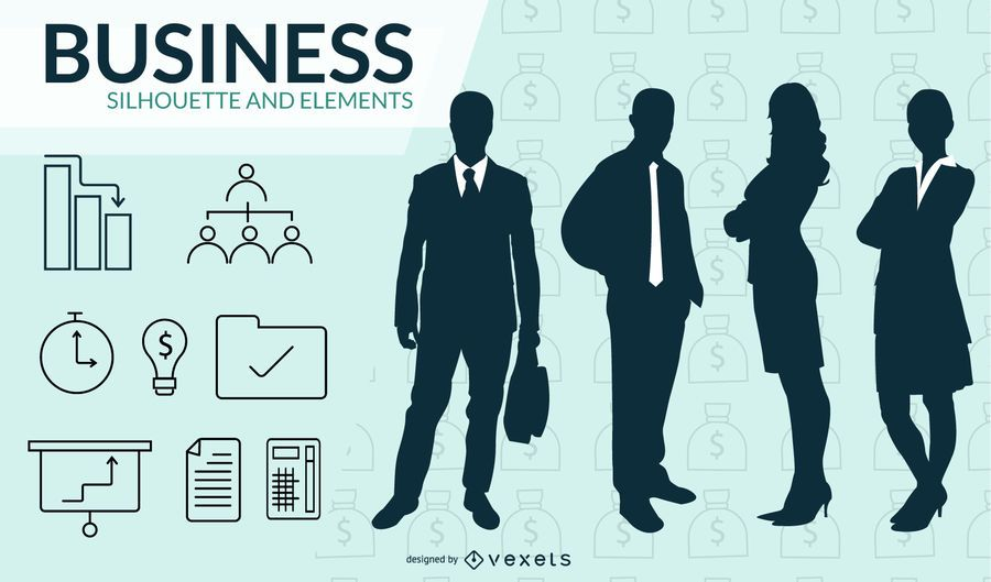 Free Business Powerpoint Templates Pack 01 2 Vector Download