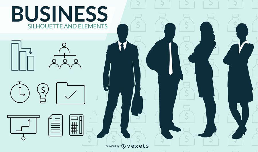 Paquete de plantillas de Powerpoint de negocios gratis 01 2
