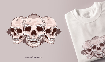 Free Skulls Vector Packs