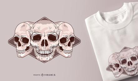 Kostenlose Skulls Vector Packs