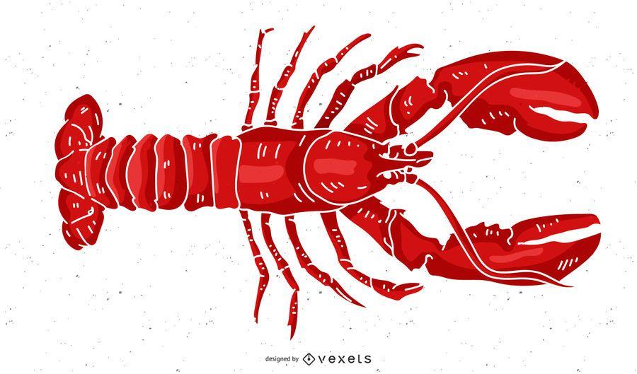 Vetor de lagosta