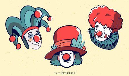 Palhaços U0026amp Carnaval Vector