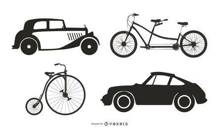 Vehículos antiguos 05 Vector