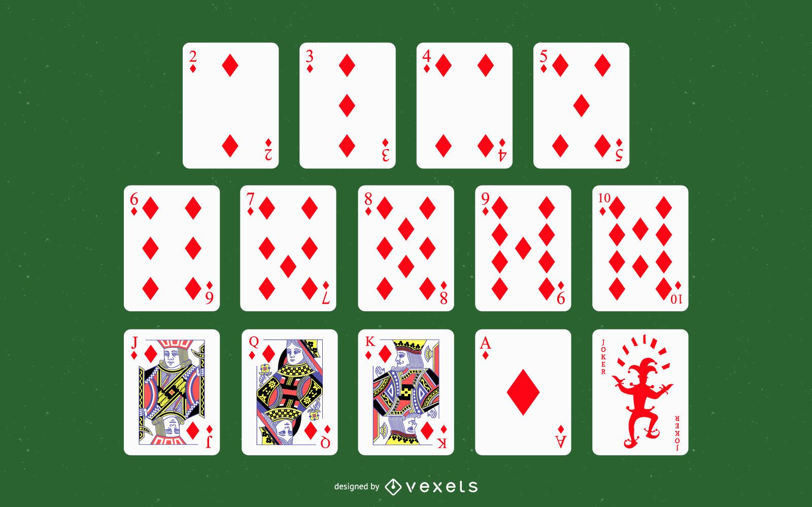 Playing Cards Suit Vector
