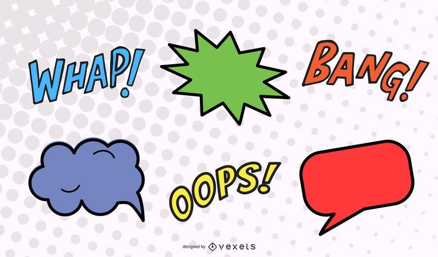 Comics Word Vector 2