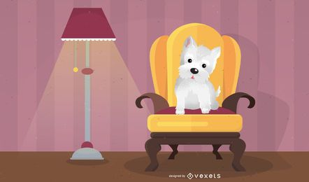 Sanx Wanroom Furniture Dog