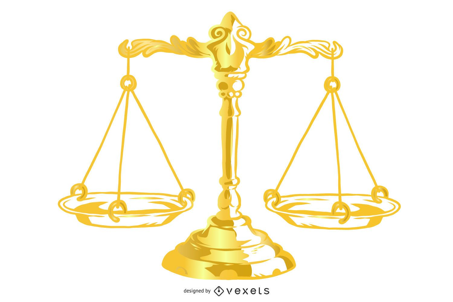 Justice Theme Vector