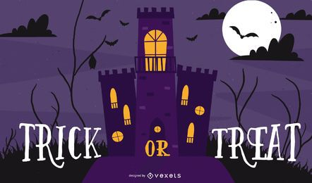 Halloween Theme Design Vector Illustration