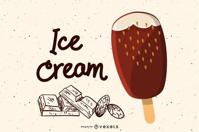 Ice Cream Popsicles Vector 3