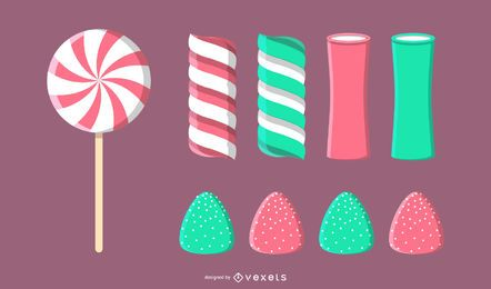 Vector de caramelo