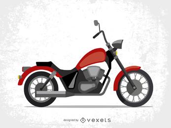 Vetor de moto legal tendência