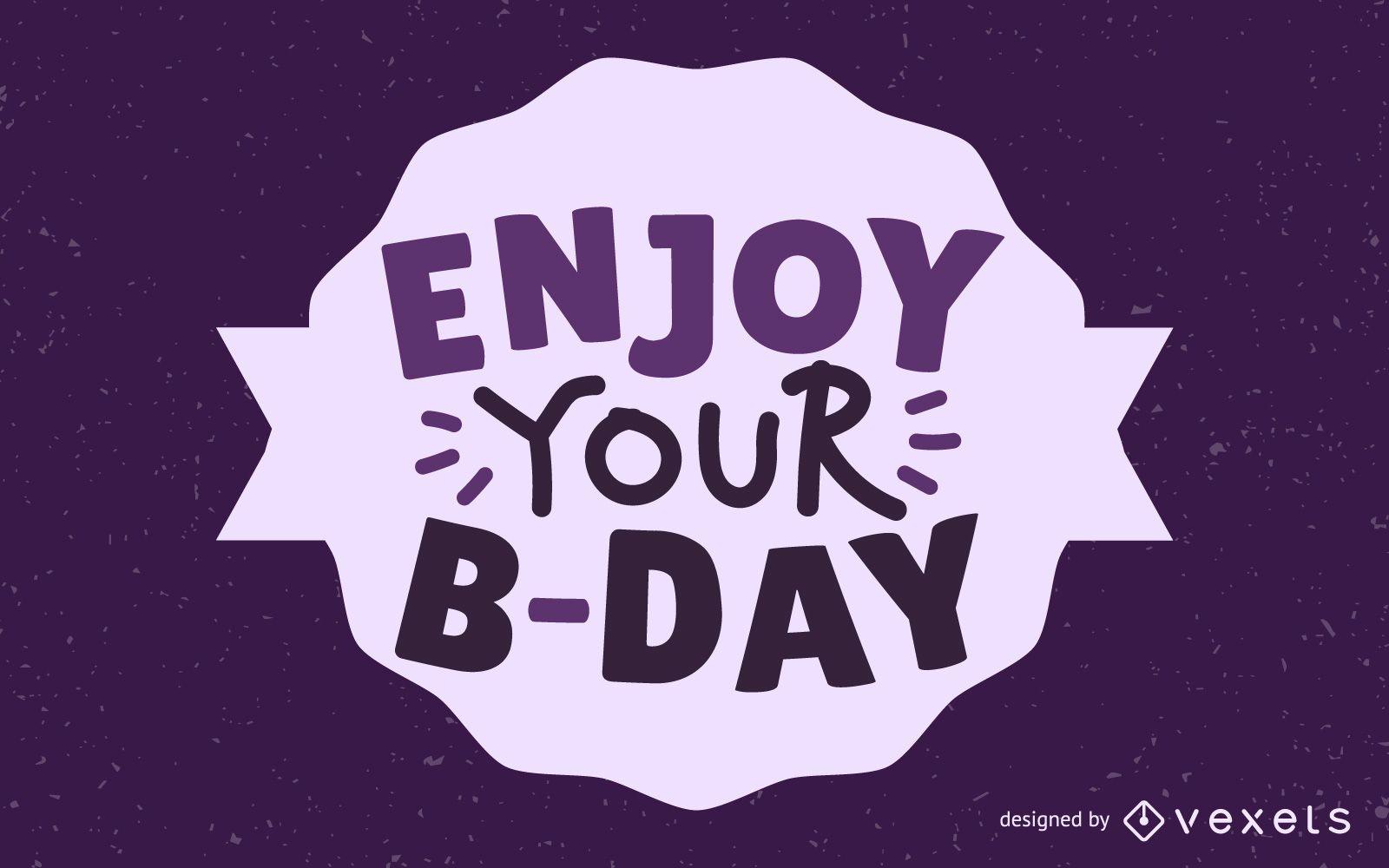 Happy Birthday Element 01 Vector