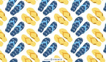 Summer Sandals 04 Vector