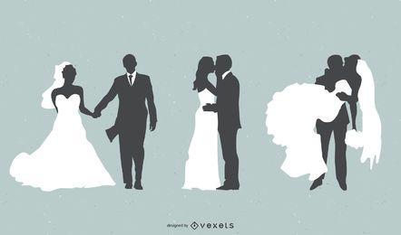 Noiva E Noivo Vector