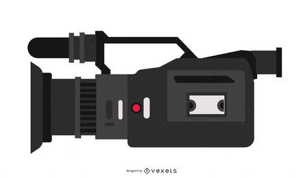 Cámara Hdr Fx1 Video Vector Gratis